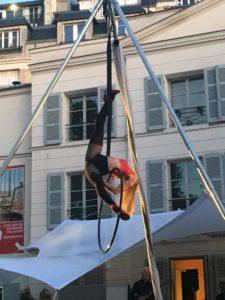 Elodie Lobjois, Acrobate aérienne, Musée de Montmartre