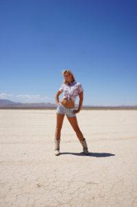 Modèle photo sexy Las Vegas Desert