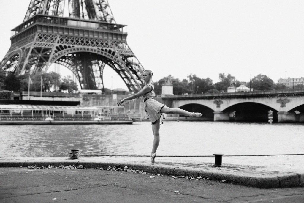 Tour Eiffel danseuse shooting photo paris