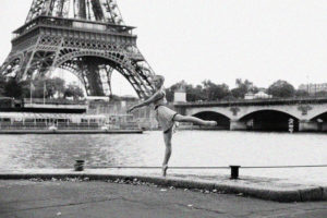Tour Eiffel danseuse shooting photo paris