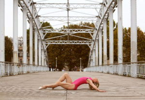 Shooting Paris danse Sur les ponts de Paris