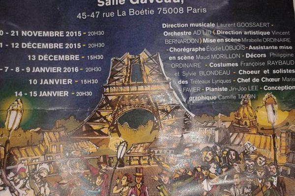 Elodie Lobjois Chorégraphe de la Vie Parisienne