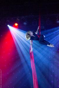 Tissu aérien, MagicShow Elodie Lobjois 2017