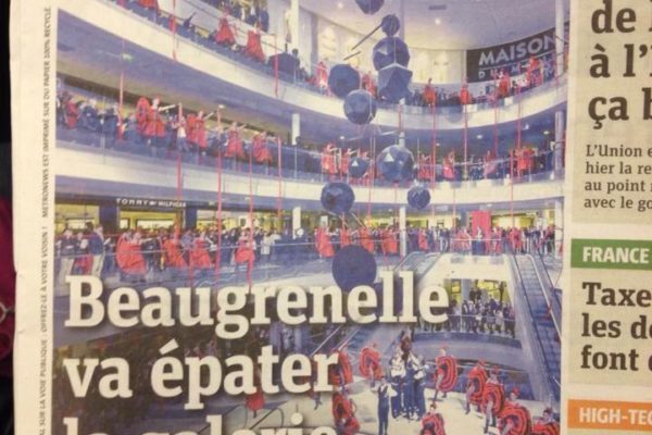 Inauguration Beaugrenelle