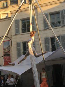 Elodie Lobjois, Danseuse aérienne Paris