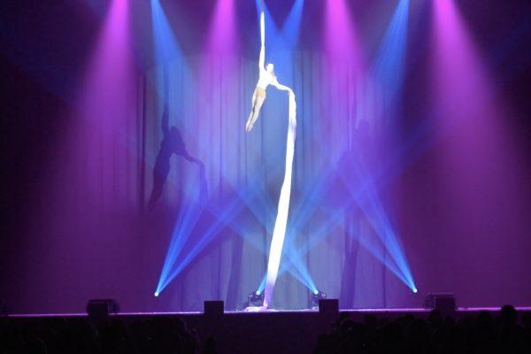 Tissu Aérien, Elodie Lobjois, Danseuse aérienne