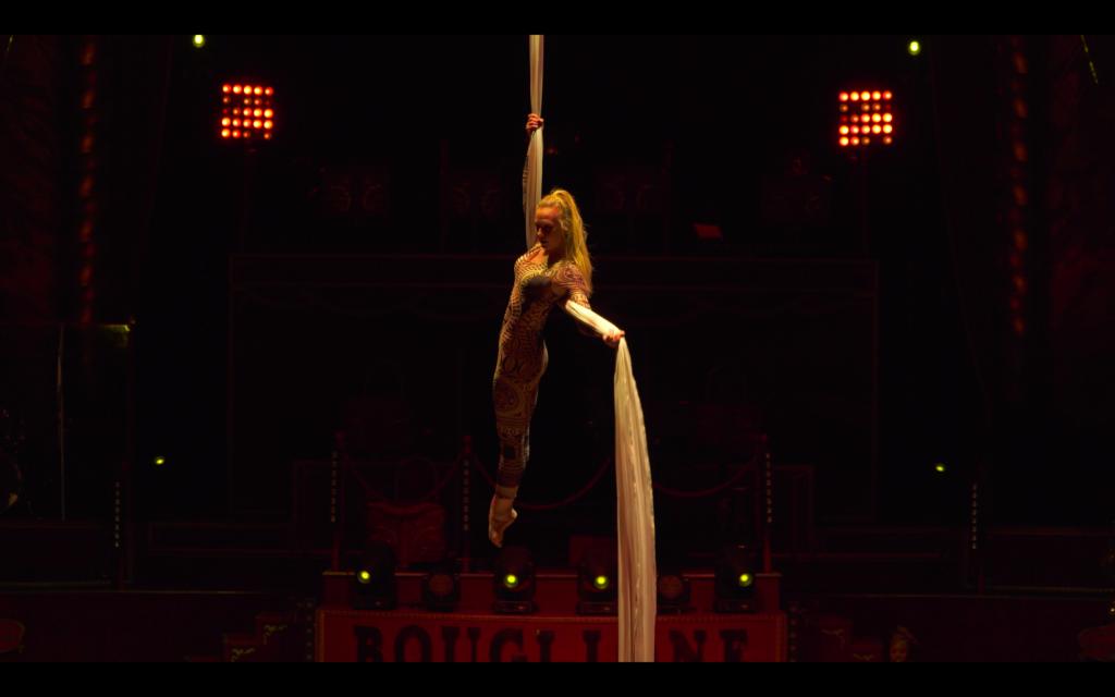 Elodie Lobjois, Cirque, Tissu aérien